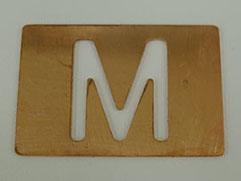 2kWシングルモードファイバーレーザによる切断 銅 1.0mm