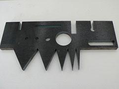熱延鋼板のファインカット  8mmt