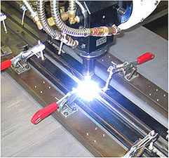 Welding of high tensile steel
