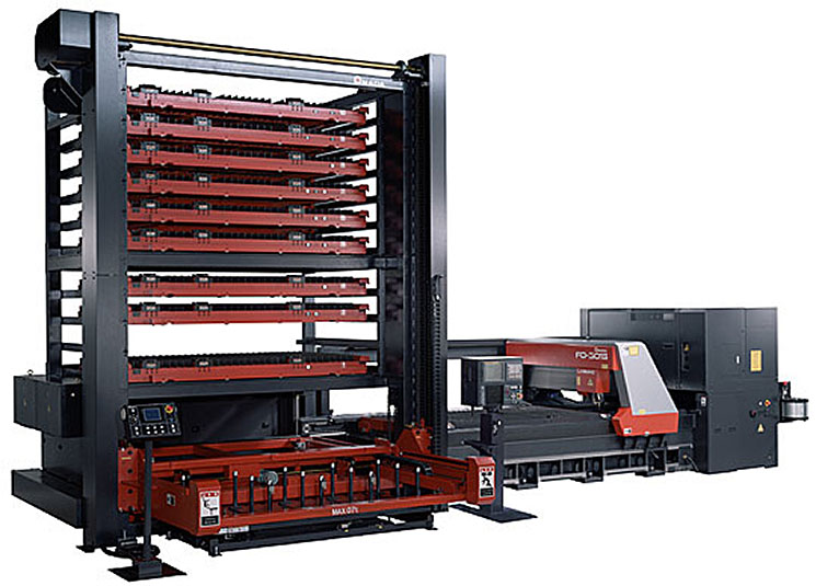 We introduced pallet changing system of two (stages 10, stages 15) for laser cutting. There improved greatly production capacity. It was long-term continuous operation became possible.